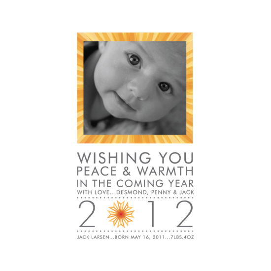 holiday photo cards - Minimalist Holiday Warmth by Adrienne Berry