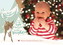 Baby Rudolph by Sparkmymind Designs