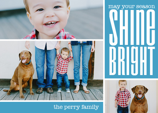 holiday photo cards - Grid by Joanna