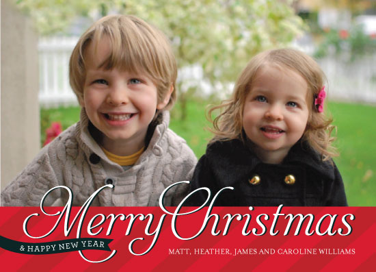 holiday photo cards - Classic Christmas by Kristin Rees