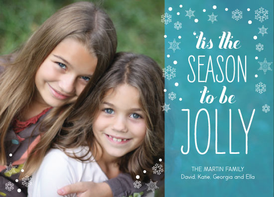 holiday photo cards - Jolly Season by Kristin Rees