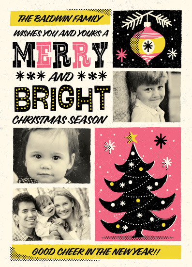 holiday photo cards - Retro Whimsical Poster by Coco and Ellie Design