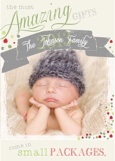 holiday photo cards - The Amazing Gift by Kim