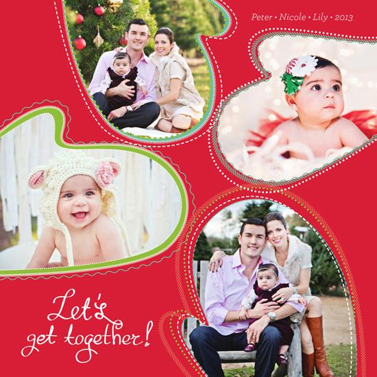 holiday photo cards - Family Mittens by Olga Mendenhall