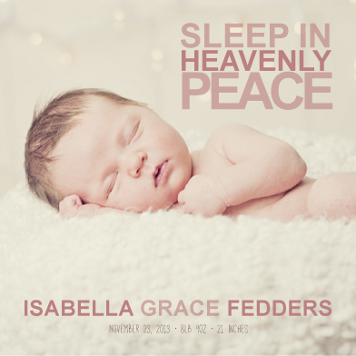 holiday photo cards - Sleep in Heavenly Peace by Hayley Fedders