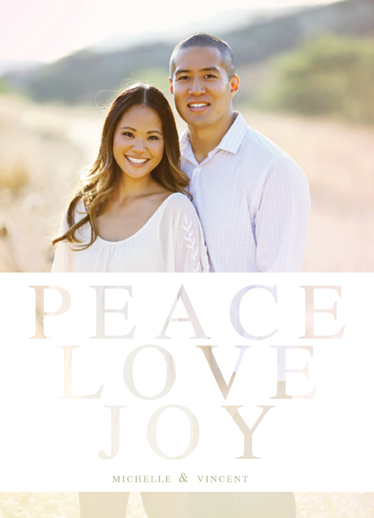 holiday photo cards - Peaceful Love by Danielle Colosimo