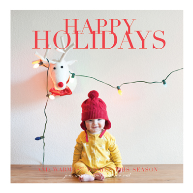 holiday photo cards - Family Holiday Frame by Danielle Colosimo