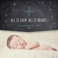 Calm. Bright.