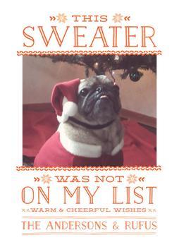 Ho Hum Sweater