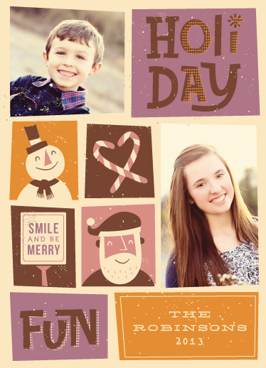 holiday photo cards - Smile and Be Merry by Maddie Enriquez