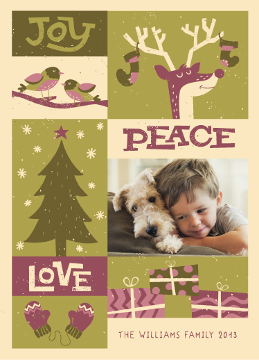 holiday photo cards - holiday sightings by Maddie Enriquez