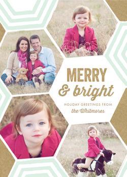 Merry Bright + Geometric