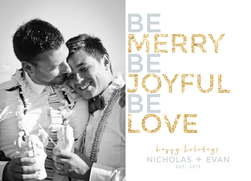 holiday photo cards - Be-Love by Danielle Colosimo