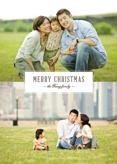 holiday photo cards - Simply Stated by Ann Gardner