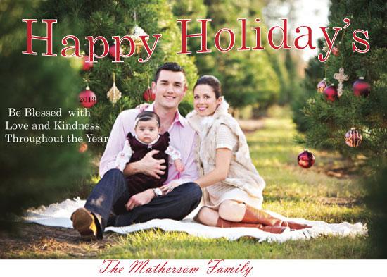 holiday photo cards - Family Love by Pamela Rockett