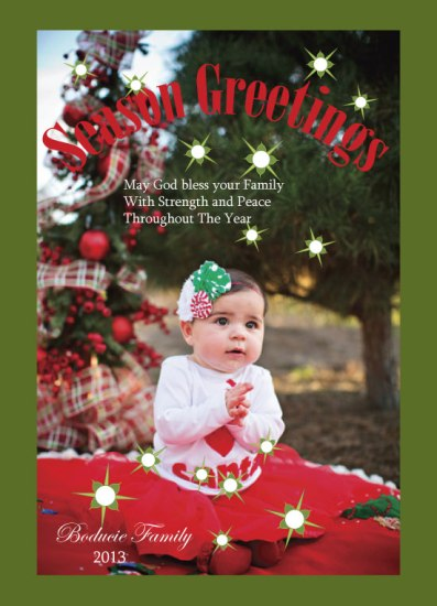 holiday photo cards - Bundle of Holiday  Joy by Pamela Rockett