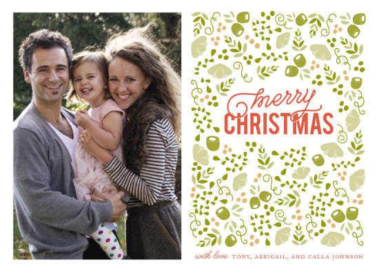 holiday photo cards - Christmas in the Garden by Mariel Schmitt