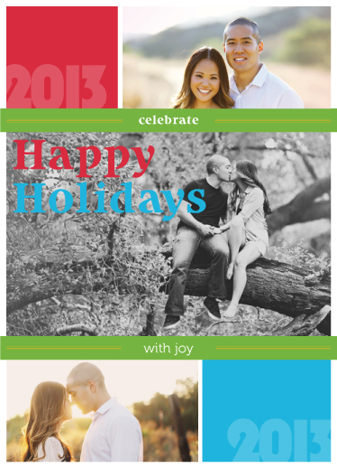 holiday photo cards - Love in the tree by John Philip