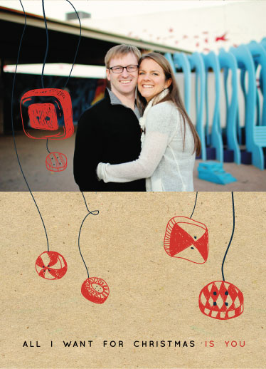 holiday photo cards - Only You by THE OOK