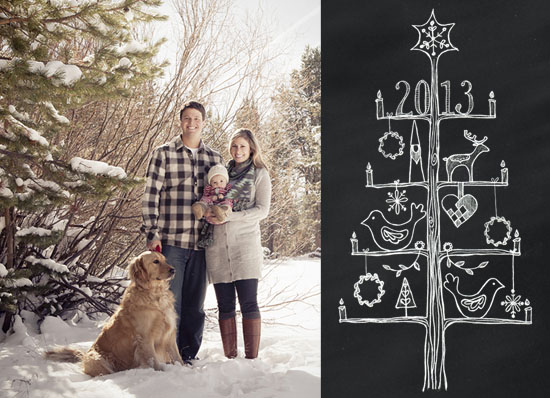 holiday photo cards - Nordic Wishes by Tomi Ann Hill