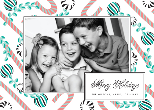 holiday photo cards - Candyholiday by Chris Griffith