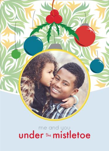holiday photo cards - Mistletoe by John Philip