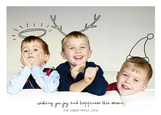 holiday photo cards - Family Fun by Mere Paper