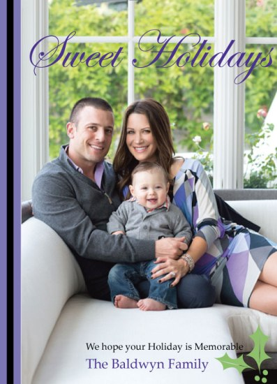 holiday photo cards - Oh Sweet Holidays by Pamela Rockett