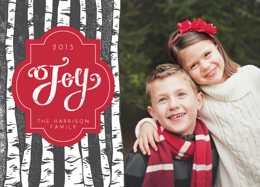 holiday photo cards - Forest of Joy by Maren Kelly