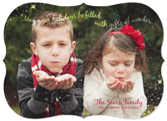 holiday photo cards - Gifts of Wonder by Courtney Smith