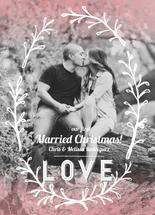 Married Christmas Wreat... by Maren Kelly