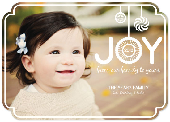 holiday photo cards - Drops of Joy by Courtney Smith