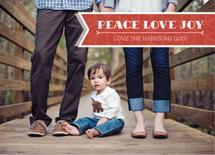 Peace Love Joy Banner by Aurelia Yiru