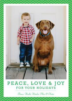 Peace, Love, Joy and Chevrons