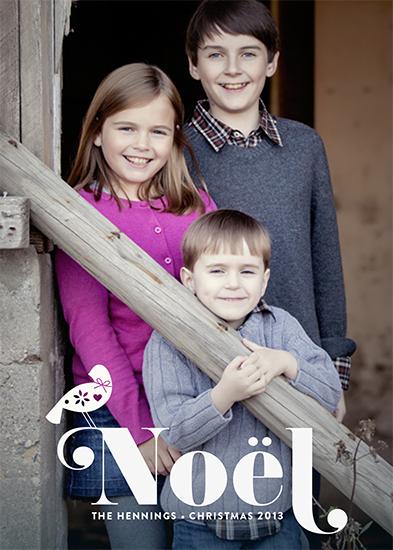 holiday photo cards - partridge by nocciola design