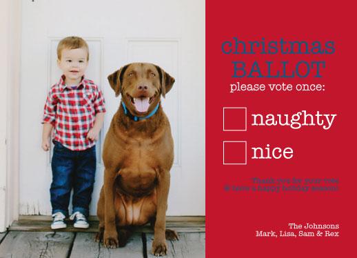 holiday photo cards - Vote 2013 by Dana Osborne