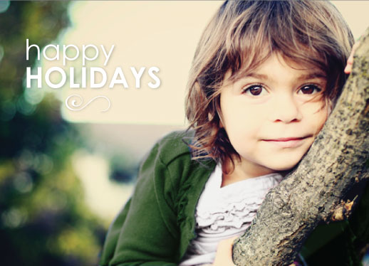 holiday photo cards - Simple and Bright by Dana Osborne