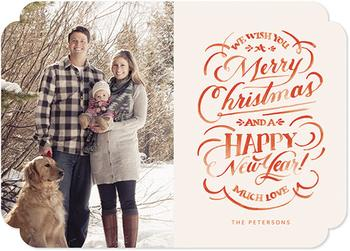 Hand Lettered Christmas Wishes