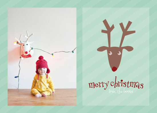 holiday photo cards - Silly Reindeer! by Erin Cline