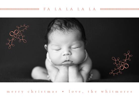 holiday photo cards - fa la la la la land by A Plume to the Wind