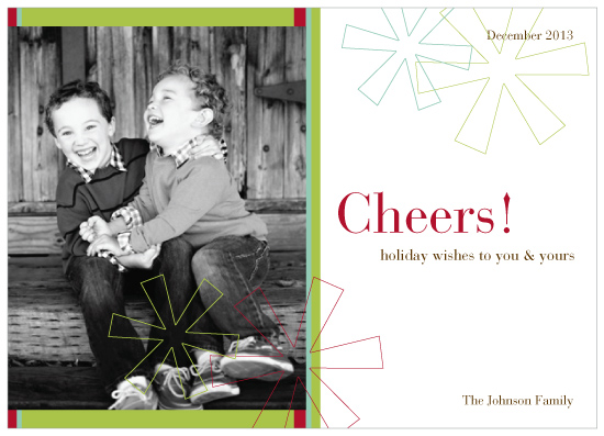 holiday photo cards - Snowflake Cheer by Diana Sonne