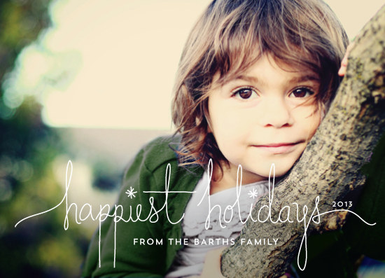 holiday photo cards - Revelry by Design Lotus