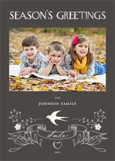 holiday photo cards - Chalk by Felix Doolittle
