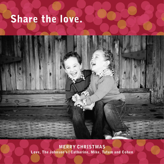 holiday photo cards - Share the Love by Aschley Yano