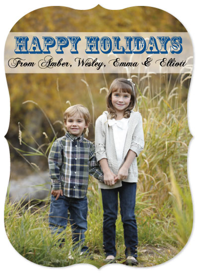 holiday photo cards - Holiday Happiness by Summer Smith