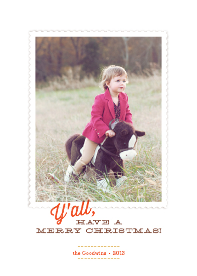 holiday photo cards - Southern Comfort by Ann Gardner