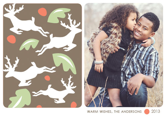 holiday photo cards - Dashaway Deer by Marisa