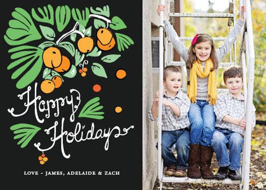 holiday photo cards - Jolly Orange Tree by Marisa