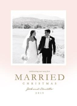 First Married Christmas