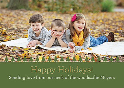 holiday photo cards - A Day In The Woods by Rachel Olson